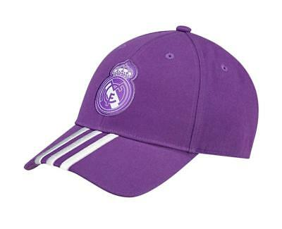 be22571b2beca New adidas Real Madrid Baseball Cap hat Purple Official club product