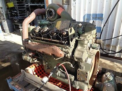 DETROIT 8V92 COMPLETE Engine (RUNS WELL) - Model 8087-7899 / 8VF 137164
