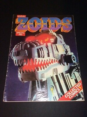 Marvel Zoids Special Collected Comics No1 March 1984: Zoids No 1: Rare Marvel.
