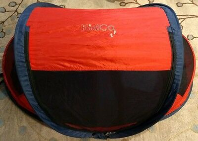 Kidco Peapod Travel Bed Red/Navy