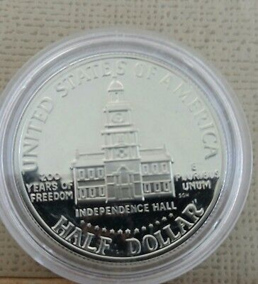 1976 United States Of America  Half  Dollar  Proof In  New Capsule No Reserve
