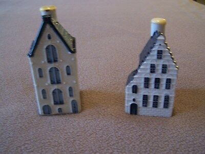 klm delft blue houses # 44 # 54. Both are sealed. #54 is boxed.