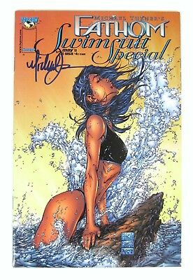 Fathom Swimsuit Special Signed by Michael Turner Top Cow Image Comics