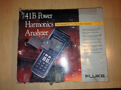 Fluke 41B Power Harmonics Analyzer