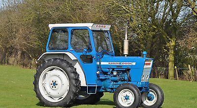 Ford 2000 - 7000 Tractors Workshop & Parts Manual