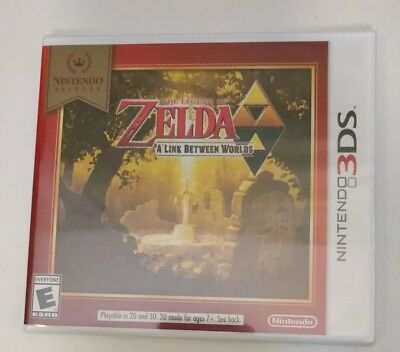 Nintendo Selects - The Legend of Zelda: A Link Between Worlds 3DS Free Shipping