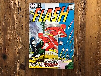 Flash #125 DC 1961 HIGHER GRADE Kid Flash, conquerors of time - Silver Age @