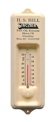 Sinclair Oil Thermometer - Vintage 1939 Advertising Item