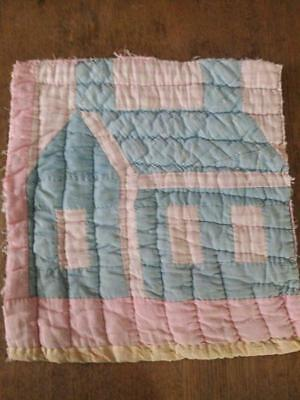 9 In X 9 In 2 Antique Cross Patch Cutter Quilt Pieces 2026