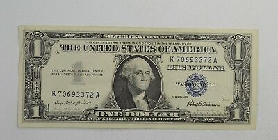 Crisp - 1957 United States Dollar Currency $1.00 Silver Certificate *986
