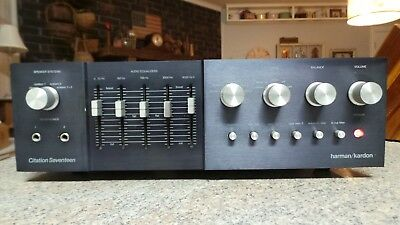 Harmon Kardon Citation Seventeen Preamplifier