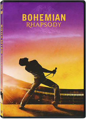 BOHEMIAN RHAPSODY ( DVD 2018 ) NEW-Drama, Music-PRE-SALE 2/12/19