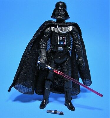 Hasbro Star Wars Darth Vader Action Figure With Lightsaber And Hilt 2004