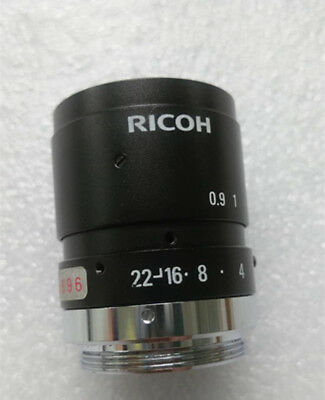 1pc Used RICOH FL-CC5028-2M fixed focus 50mm 2 million HD industrial lens