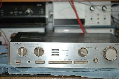Luxman L 230 Integrated Amplifier- Extremely Clean-Operating Perfectly 9 of 10