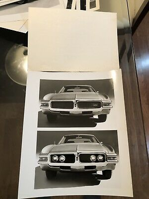 1968 Vintage Oldsmobile Olds Toronado Original 8x10 Photo Archive COA