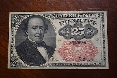 1874 25 CENTS 5th Issue FRACTIONAL CURRENCY