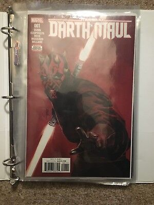 Marvel Star Wars Comics Darth Maul 1-5 Lot Set