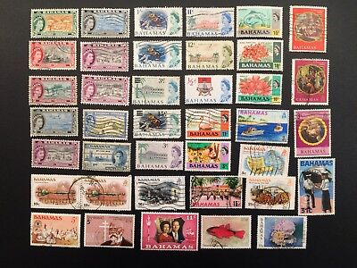 Bahamas Stamps Mint and Used