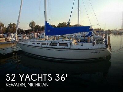 1985 S2 Yachts 11 Meter Aft Cockpit Used