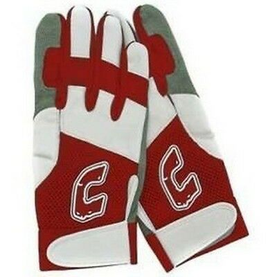 1 Pr Combat Team Combat Ultra Dry Mesh Red / White Small Adult Batting Gloves