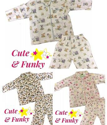 Brand New Baby Flannelette Pyjamas Mixed Animals,Charlie Brown/Snoopy,Puppy,Toys