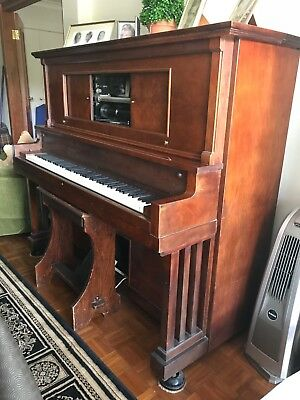 Pianola + Rolls + WH Paling & Co Ltd - Victor Patent + Good Condition