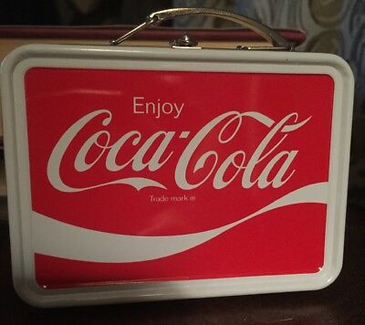Collectible 2009 Coca Cola Tin Mini Lunch Box