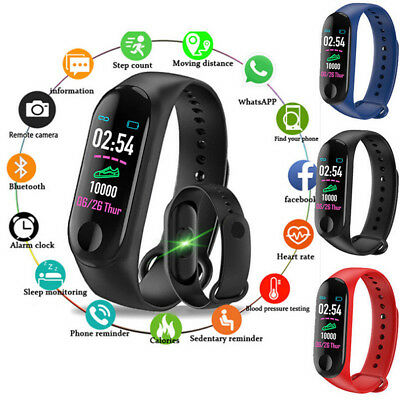 Fitness Smart Watch Activity Tracker WomenMen Kids Sports Android iOS Heart Rate