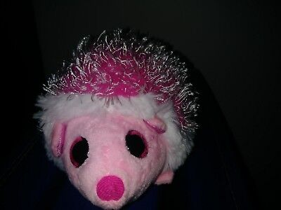 f6cdf3e386a Ty Beanie Babies classic Mrs. Prickly the Pink Hedgehog Porcupine