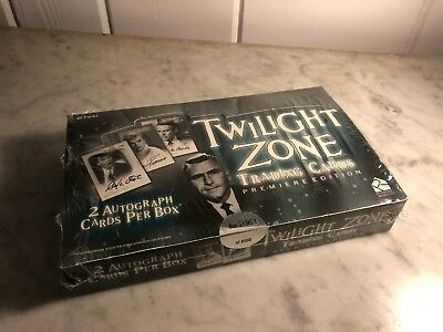 Twilight Zone Premiere Edition - Trading Card Hobby Box - 36 Packs, 1999