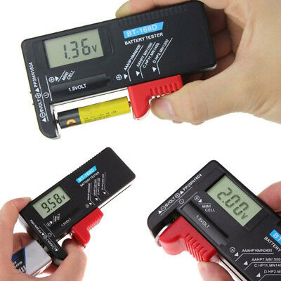 New Universal Battery Checker Tester for AA AAA C D 9V