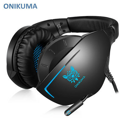ONIKUMA K7 Over-ear Dynamic Stereo Gaming Headset for PS4 / Xbox One / PC New