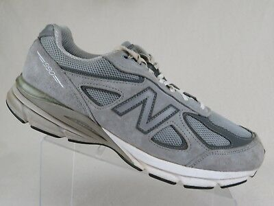 differently 128ec ed858 NEW BALANCE 990V4 Grey Sz 12 4E Extra Wide Men Running Shoes