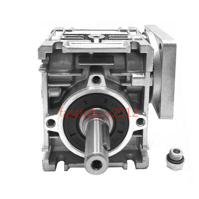 15:1 Worm Gearbox Nema23 Flange Speed Reducer Geared Reduction for Stepper Motor