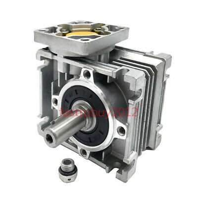 NMRV030 NEMA23 Gearbox 30:1 Worm Geared Speed Reducer for CNC Stepper Motor