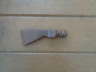 Cast Iron Axe Indian Tomahawk Peace Pipe Ax Primitive Tool