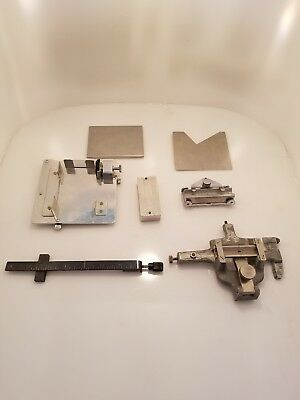 Kingsley Hot Gold Foil Stamping Machine Parts Lot EUC Embossing