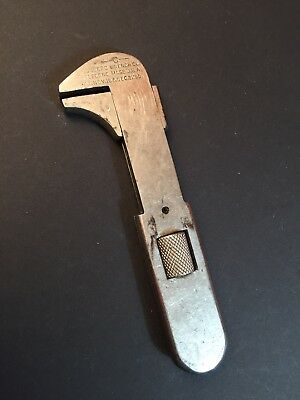 Vintage Mossberg Quick Release Adjustable Pocket Wrench Bicycle Auto