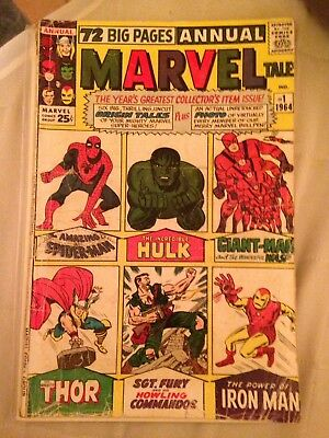 Marvel Tales Annual 1 Marvel Comic Book 1964
