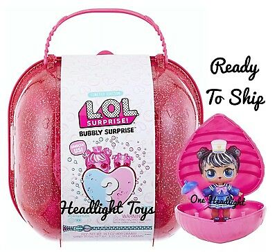 1 LOL BUBBLY Surprise Series Pink Case Big Sister Doll Pet Ball Sparkle 2 3 5 6