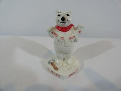Coca Cola Always You Always Me 1996 porcelain bear No box