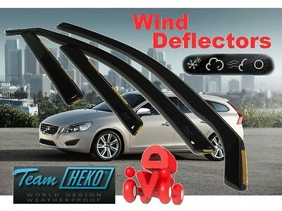 VOLVO V60 2010 -  5.doors Wind deflectors 4.pc set HEKO 31258