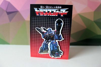 God GinraI G1 Transformers Japanese exclusive retro collectible Magnet