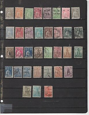 Angola collection, nice group of old stamps  (4028