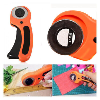Quilting Leather Rotary Cutter Fabric Knife Circular Cutting Blade Patchwork