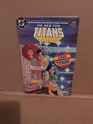 THE NEW TEEN TITANS No.6 - ACTION / ADVENTURE COMIC