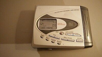 SHARP MD-SR 40 portable minidisc recorder