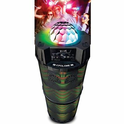 iDance Cyclone 6000, Bluetooth Portable Speaker with Karaoke,Party Lights System