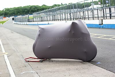 Ducati 848, 1098, 1198 S R Super Soft Stretch Indoor Bike Cover Breathable Grey